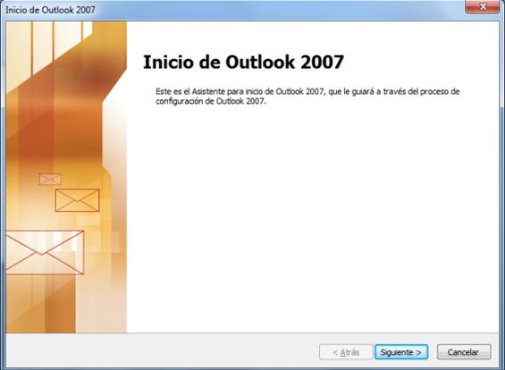Configurar correo Outlook 2007