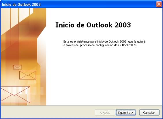 Configurar correo Outlook 2003
